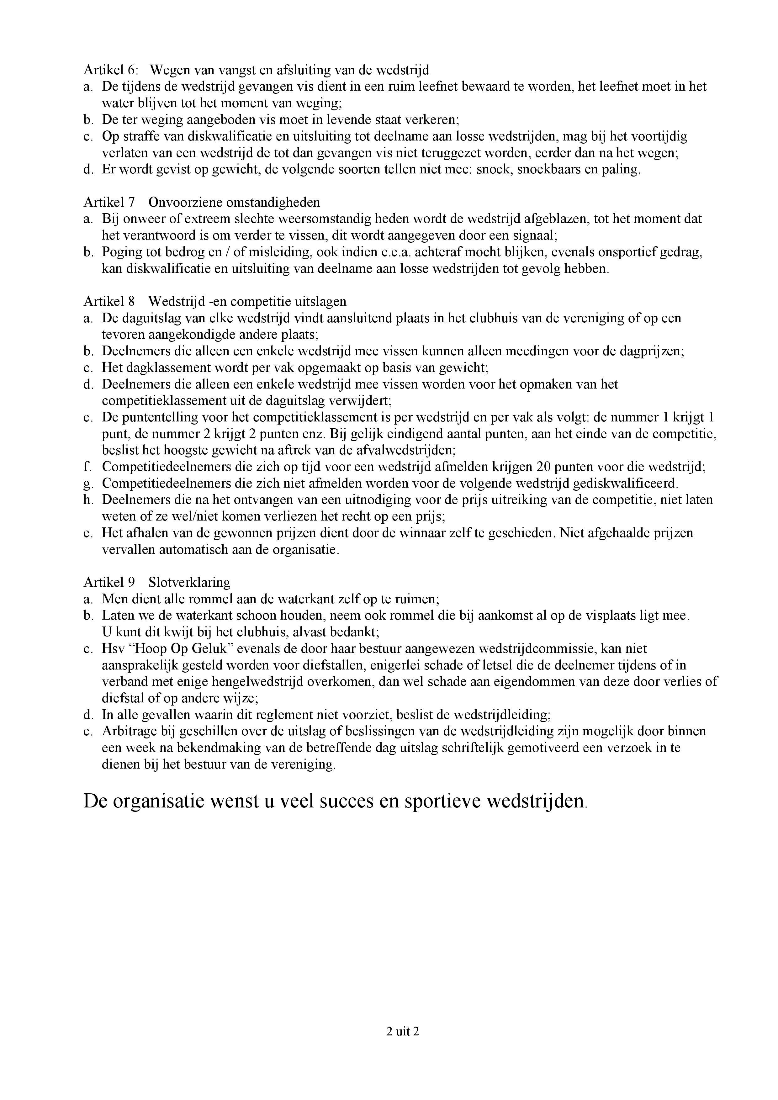 Reglement 2020 Vaste Stok (blad 2)